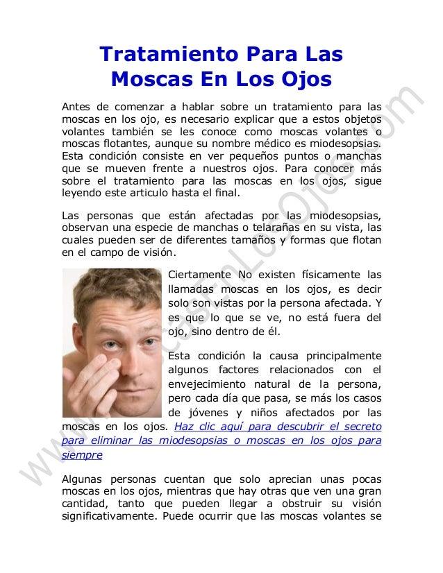 Remedios caseros para las infecciones oculares como - Remedio contra las moscas ...
