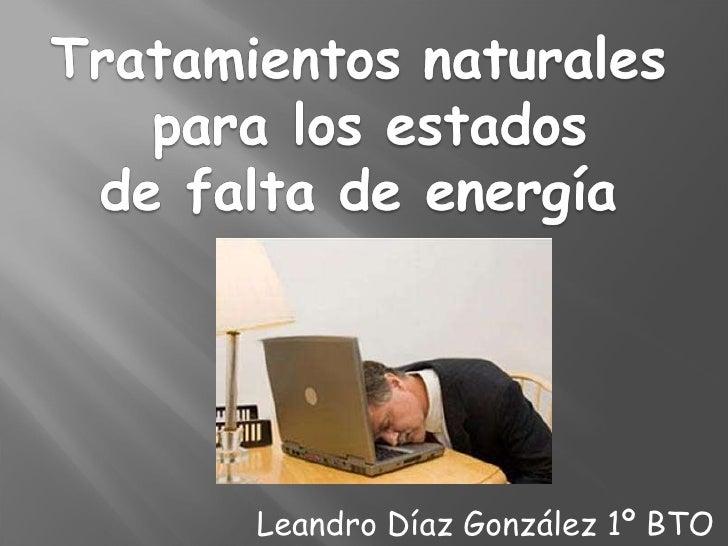 Leandro Díaz González 1º BTO