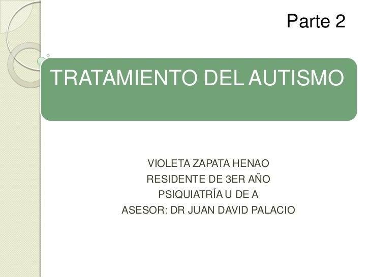 Tratamiento tea trastornos espectro autista farmacologico y conductual teacch 2