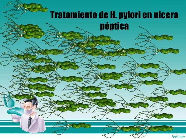 H. pylori y lceras p pticas