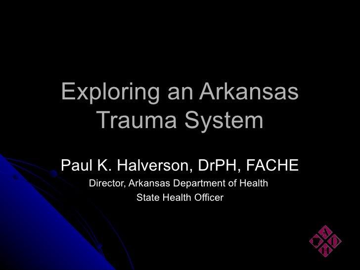 Trauma System 080502