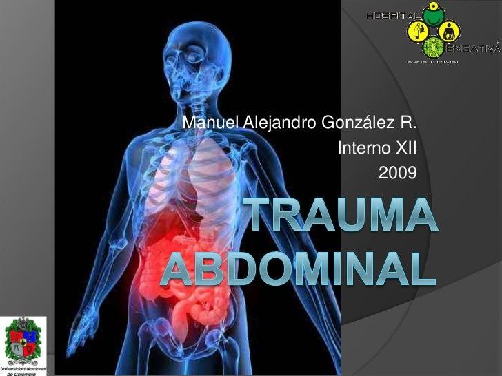 Trauma Abdominal
