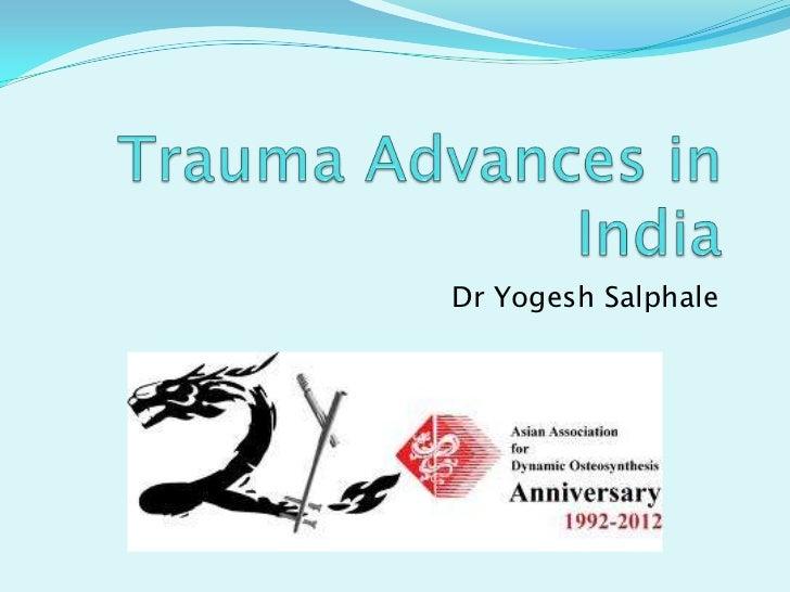 Dr Yogesh Salphale