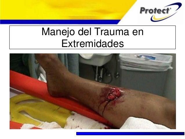 Trauma en extremidades, inmovilizaciones training