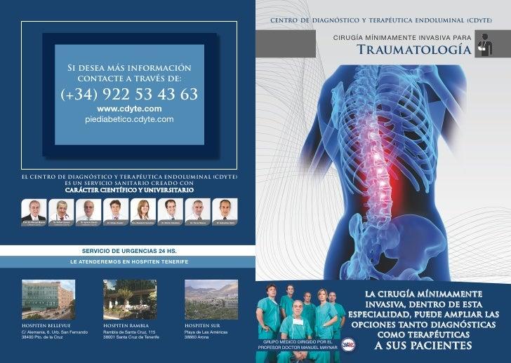 Dossier de Traumatologia del CDyTE