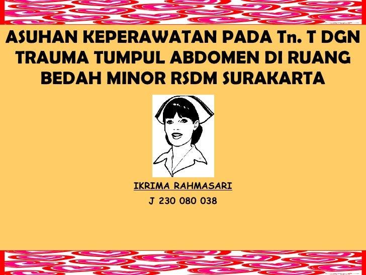 Trauma tumpul abdomen