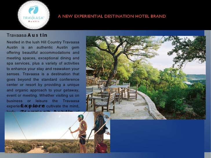 Travaasa  Austin   Nestled in the lush Hill Country Travaasa Austin is an authentic Austin gem offering beautiful  accommo...