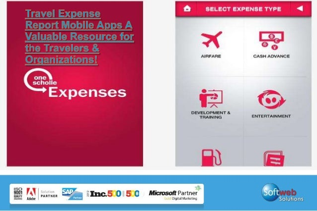 Travel Expense Reporting App on Mobile