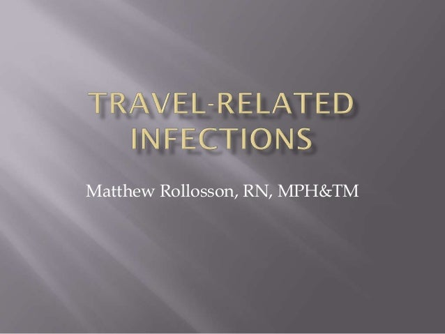 Travel-related infections