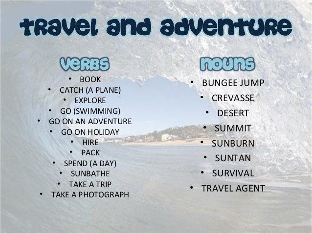 TRAVEL & ADVENTURE 1