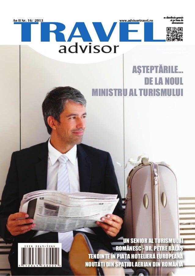 Travel advisor Nr. 16