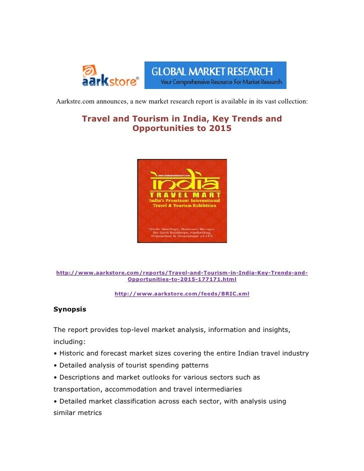 ||Travel||Aarkstore.com  Travel and tourism in india, key trends and opportunities to 2015