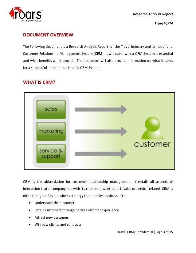 Customer Relationship Management Systems Essay