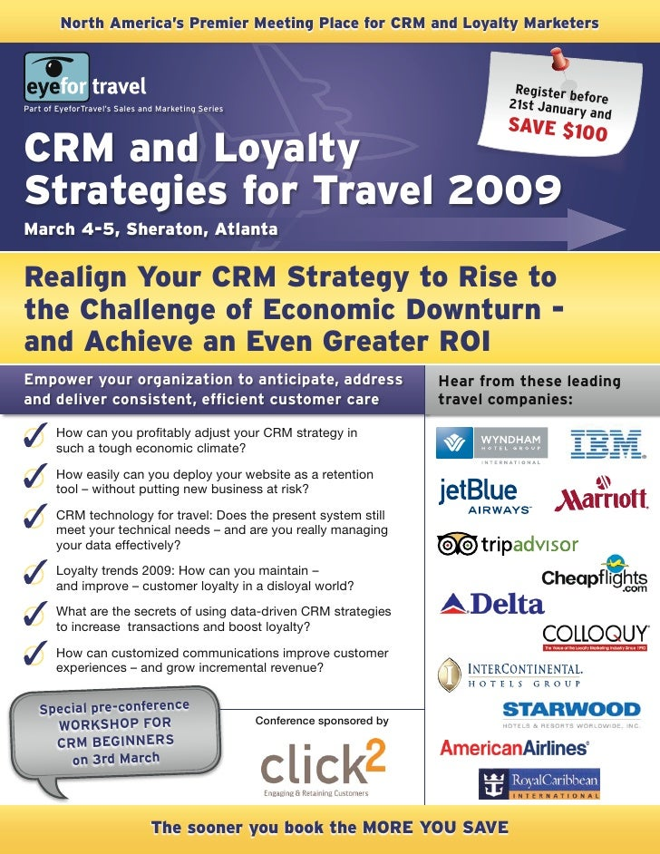 EyeforTravel - Customer Relationship Management and Loyalty Strategies for Travel USA (2009)