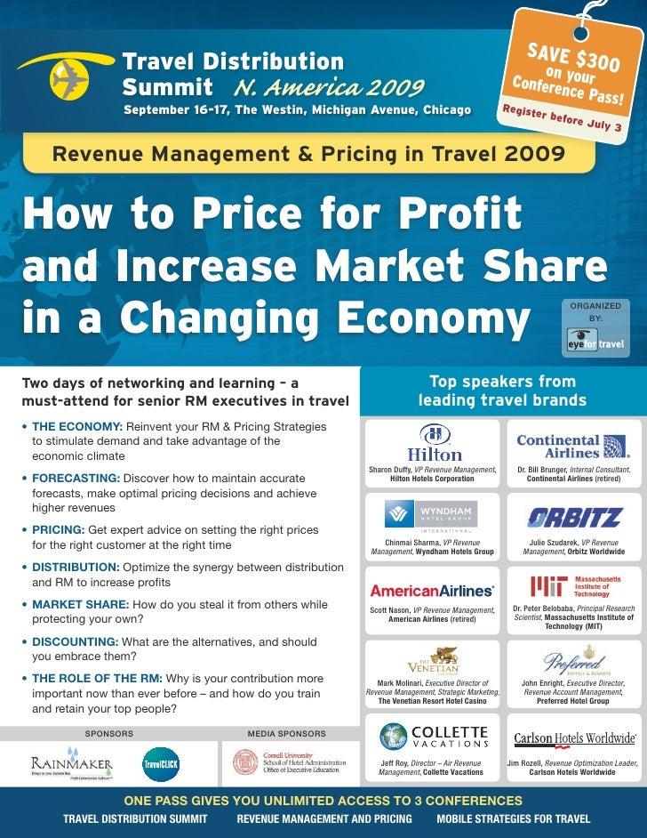 EyeforTravel - Revenue Management & Pricing in Travel USA 2009