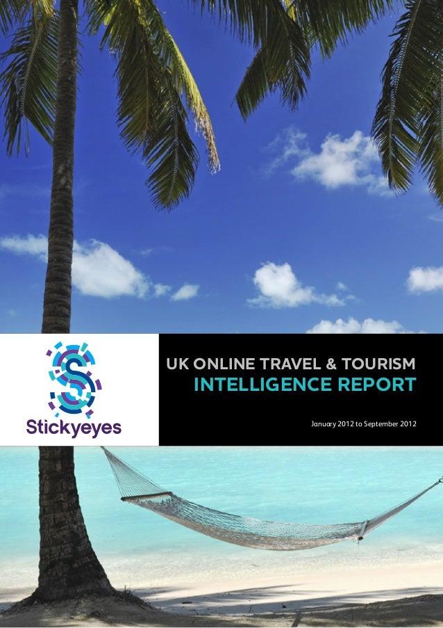 Market Intelligence Report: UK Online Travel & Tourism 2012