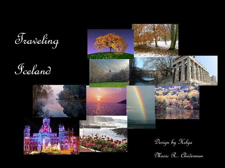 Traveling  Iceland Design by Helga Music R.. Cleiderman