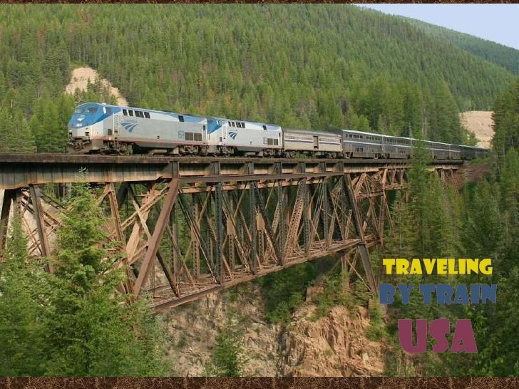 Traveling by train usa