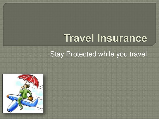 Travel Insurance Policies