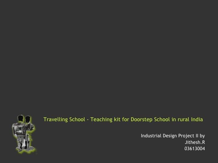 Travelling School   Teaching Kit For Doorstep School