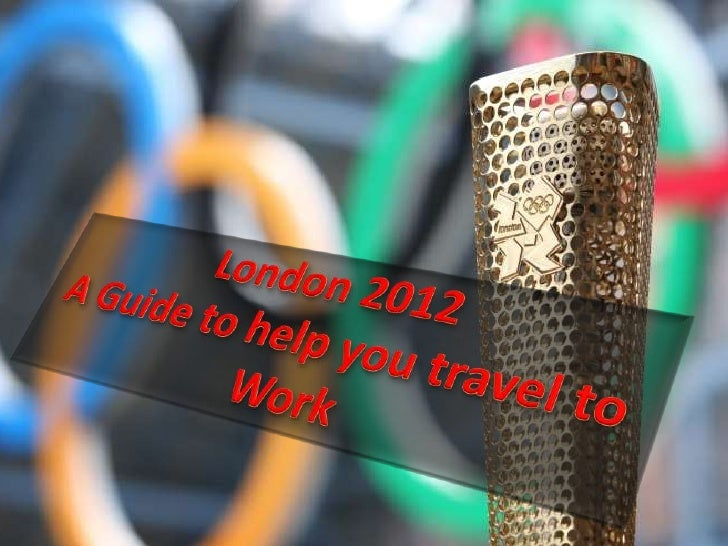 Disclaimer: •   This presentation has been put together to assist people in planning their travel to work and     from wor...