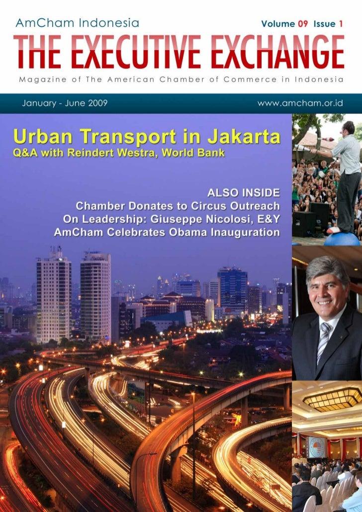 Travel Security Basics - AMCHAM Indonesia - The Executive Exchange Magazine