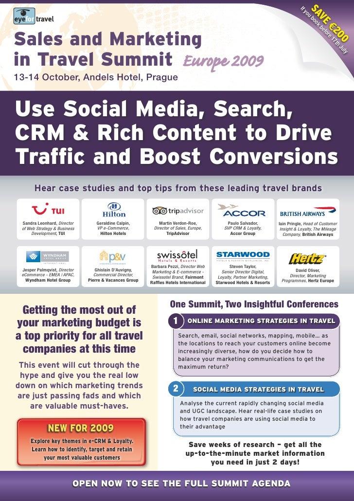 EyeforTravel - Sales & marketing in Travel Europe 2009