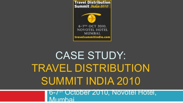 Travel Distribution Summit Case Study