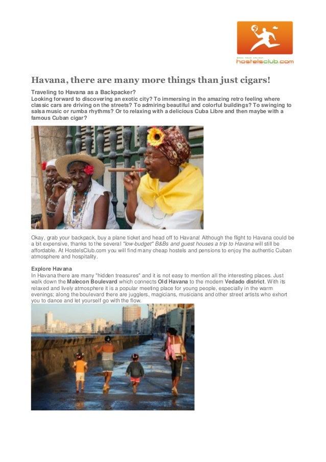 Travel tips for havana