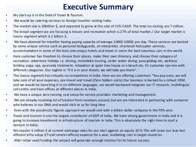 Importance Of Executive Summary In Business Plan  Comedy Resume Sample