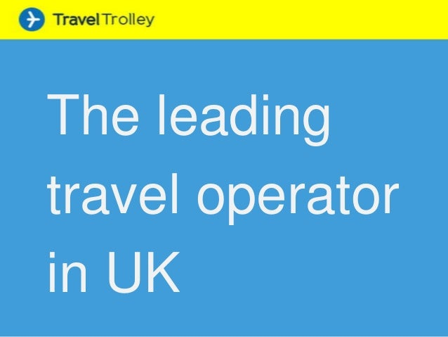 The leading travel operator in UK