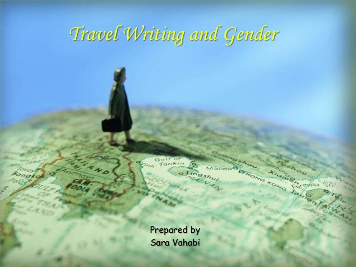 Travel writing and gender