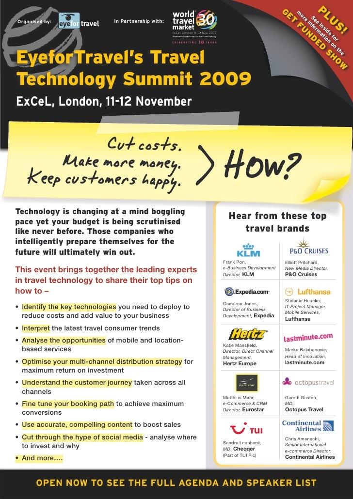 EyeforTravel - Technology SUmmit Europe 2009