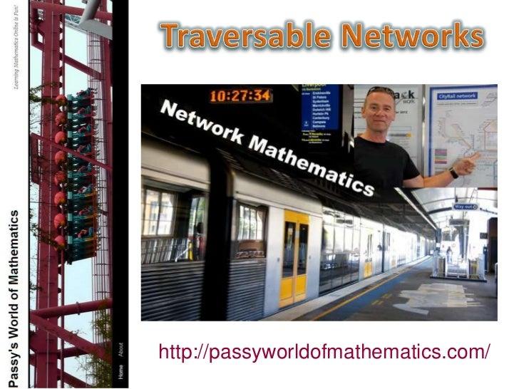 Traversable Networks