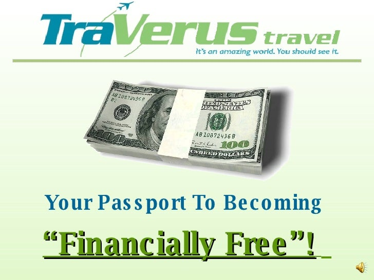"""Your Passport To Becoming  """" Financially Free""""!"""