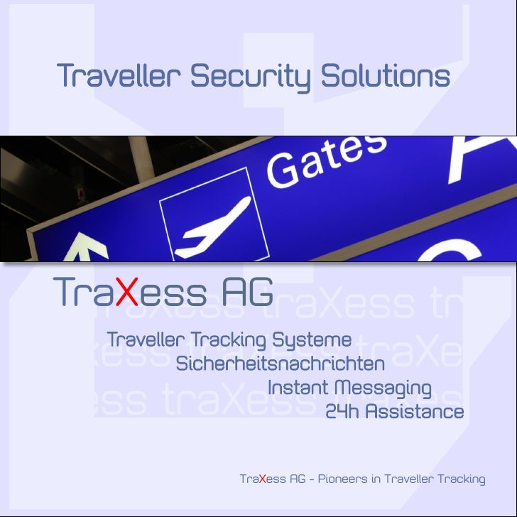 Traxess Traveller Security Solutions