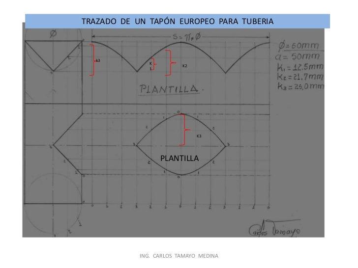Trazado y  desarrollo  en  lámina  y tubería 2