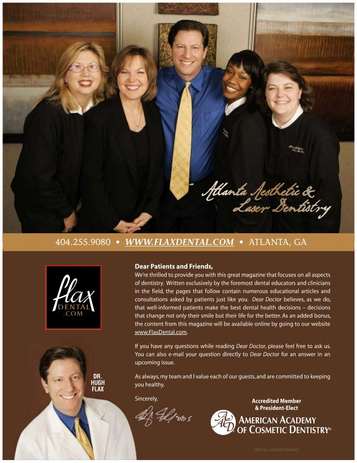 Aesthetic Dentistry Atlanta by Dr. Hugh Flax