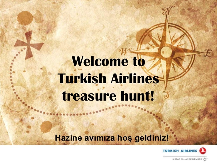 Turkish Airlines Treasure Hunt