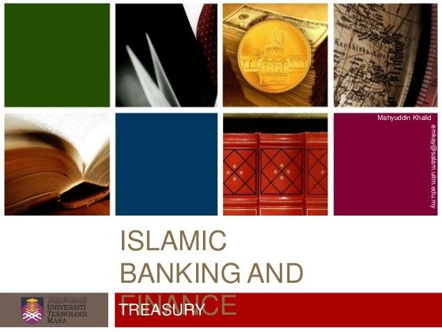 Fundamental of Islamic Banking - Treasury