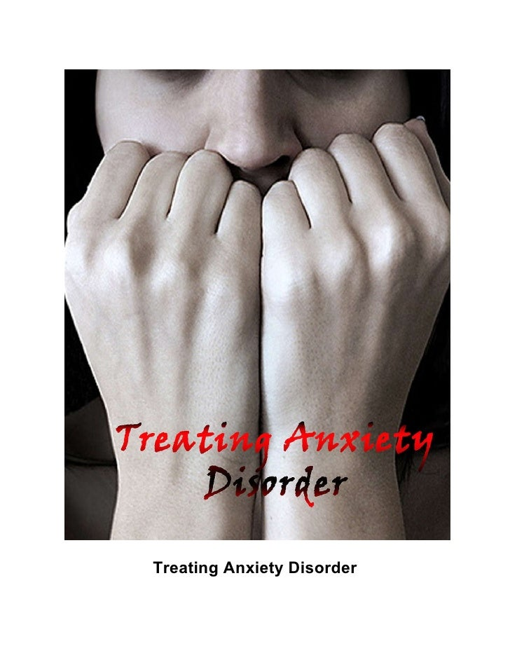 Treating anxiety disorder