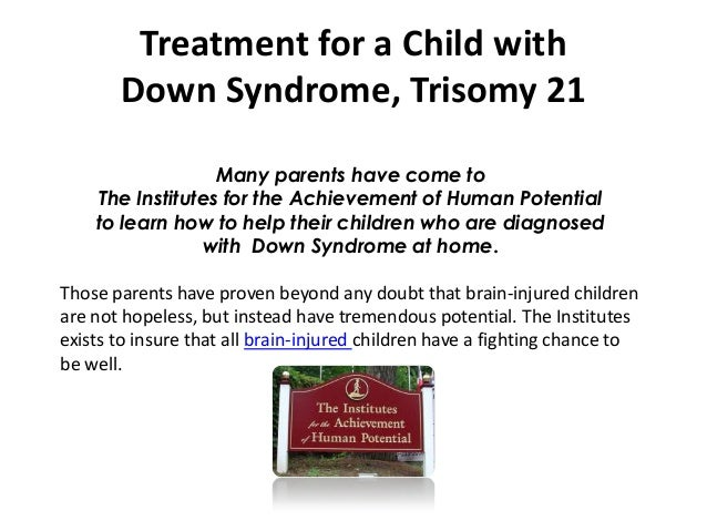 term paper on down syndrome