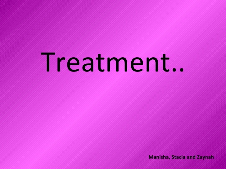Treatment For Music Video