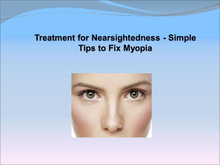 Cure Myopia Naturally Ebook Free Download