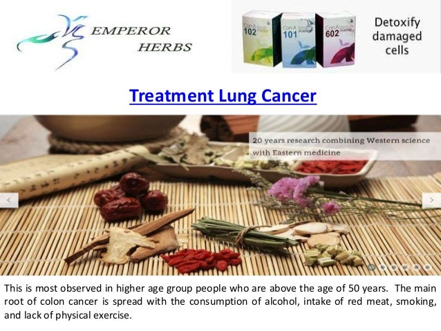 Treatment lung cancer