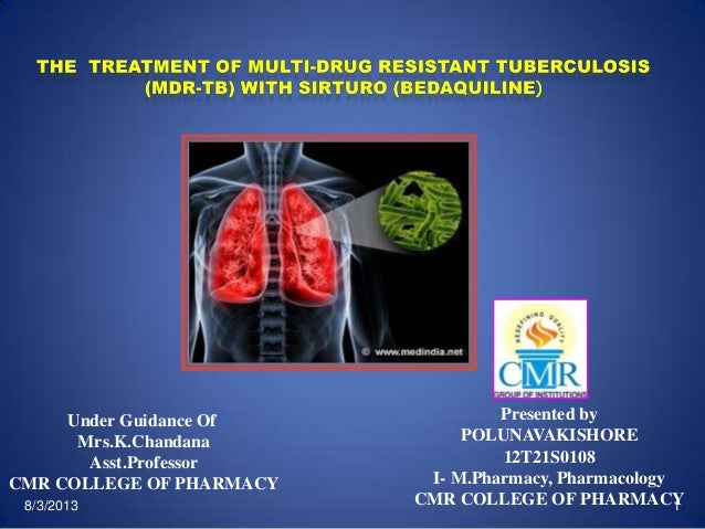 Treatment of tb with sirturo