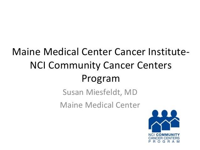Maine Medical Center Cancer Institu