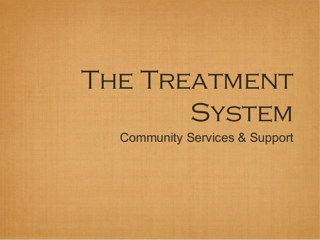 Treatment system 13