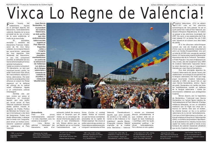 «Vixca Lo Regne de Valéncia!», reportatge sobre blaverisme