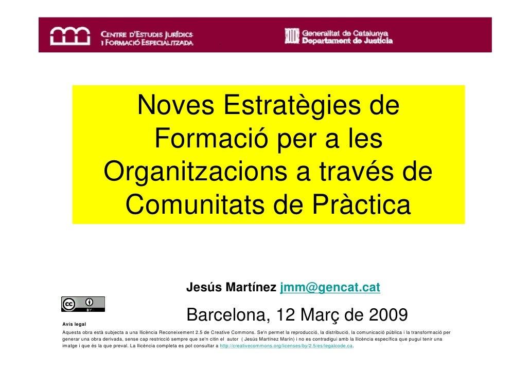 Noves Estratègies de                      Formació per a les                   Organitzacions a través de                 ...